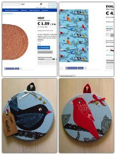 Noted: DIY Easy art via Ikea Hackers #diy #project