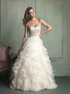 Allure Wedding Dresses - Style 9110 [9110] : Spring 2014. $1640
