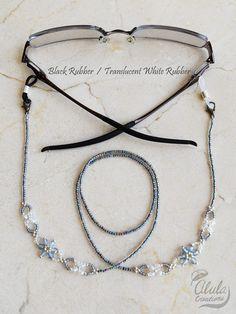 Lente cadena de gafas de flor lectura gafas por AlulaCreations