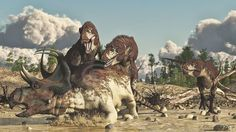 Lythronax, Machairoceratops by PaleoGuy on DeviantArt