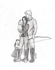 Mellark Family by cuethememusic