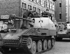 Marder III M Sd Kfz 138. This was the best designed & most numerous Marder, with 942 built. The 7.5cm Pak 40 was mounted on the Geschutzwagen 38(t) Ausf M