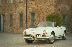 The Italian Alfa Romeo