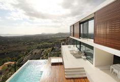 MIQUEL ÁNGEL LACOMBA. Moderne HäuserHausfassadenHauswandMittelmeerhäuserSchöne  HäuserModerne ArchitekturLabLandschaftArchitekten