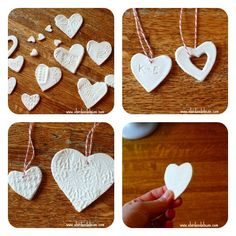 Make this very easy, very smooth dough with your kids using things you have around the house. Projects For Kids, Crafts For Kids, Arts And Crafts, Paper Crafts, Diy Crafts, Valentine Decorations, Valentine Crafts, Valentines, Kids Christmas