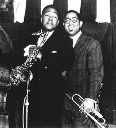 Charlie Parker and Dizzy Gillespie