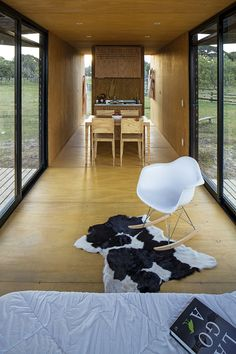 [ shipping container home ] interior