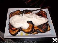 Auberginen-Zucchini in Knobi-Joghurt