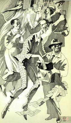 Глава 9. Коровьевские штуки. Иллюстрации к «Мастеру и Маргарите» Павла Оринянского.