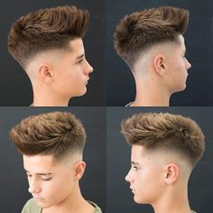 """New """"boy hairstyles images"""" Trending Boy Amazing hairstyle pic collection 2019 Hairstyles Haircuts, Haircuts For Men, Barber Hairstyles, Teen Boy Hairstyles, Barber Haircuts, Hair And Beard Styles, Curly Hair Styles, Boys Haircut Styles, Gents Hair Style"""