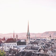 Where to view all 4 churches here in ! Zurich, Carry On, Paris Skyline, Sunshine, In This Moment, Spring, Travel, Life, Instagram