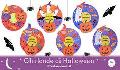 Lavoretti Halloween: le ghirlande Happy Happy Happy, Decorative Plates, Home Decor, Art, Happy, Decoration Home, Room Decor, Home Interior Design, Home Decoration