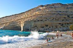 Matala, Crete https://www.hotelscombined.com/?a_aid=150886 http://www.jetradar.com/?marker=126022