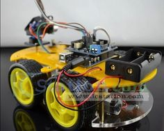 Bluetooth Multi-Function Car Kit Intelligent Car for Arduino http://www.icstation.com/product_info.php?products_id=2529