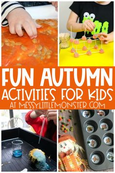 Autumn activities for kids Creative Arts And Crafts, Creative Activities, Creative Kids, Kid Activities, Easy Fall Crafts, Crafts For Kids To Make, Kids Crafts, Autumn Activities For Kids, Cool Art Projects