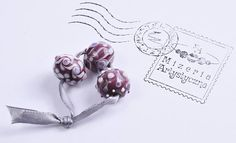 Items similar to Violet-white-patterned beads on Etsy Handmade Beads, White Patterns, Bracelet Making, Arts And Crafts, Place Card Holders, How To Make, Etsy, Jewelry, Jewellery Making