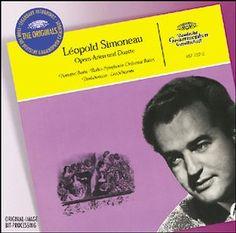 LEOPOLD SIMONEAU French & Italian Arias - Deutsche Grammophon
