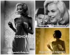 We have been blessed with sharing knowledge and information on Marilyn (as well as… Keira Knightley, Look Alike, Marilyn Monroe, Female Bodies, Photoshop, The Originals, People, Movie Posters, Facebook