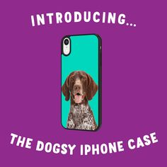 Your Dog on your Phone case Bring your Dog with, on the go! Our personalised phone case are perfect for those dog loves! Custom printed with your dogs face on and a bright coloured background Upload a Photo of your Dog and we'll take care of the rest. Small Pug, Personalized Phone Cases, T Shirts Uk, Bichon Frise, Yorkshire Terrier, Dog Love, Dog Breeds, Your Dog, Iphone Cases