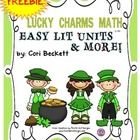 If you are looking for a quick and engaging math lesson that reaches a variety of learners, Lucky Charms Math is just the ticket.  And it's FREE!