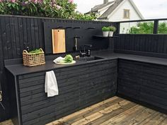 Awesome Modern Kitchen Outdoor With Farmhouse Style 30 – Home Decor Ideas 2020 Best Outdoor Furniture, Adirondack Furniture, Outdoor Kitchen Design, Outdoor Kitchen Sink, House With Porch, Terrazzo, Kitchen Styling, Living Room Furniture, Farmhouse Style