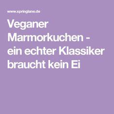 Veganer Marmorkuchen - ein echter Klassiker braucht kein Ei