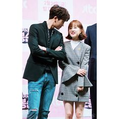 😊SWDBS press conference #parhyungsik #parkboyoung #박보영#박형식