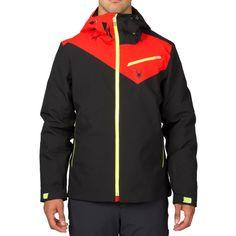 Spyder Enforcer Jacket Herren Skijacke schwarz rot grün #spyder #skibekleidung #outlet #sporthausmarquardt