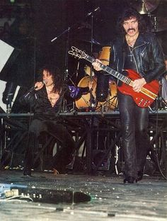 Black Sabbath with Ronnie James DIO.........
