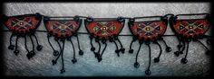 Armenian necklaces made of ceramics. Ar-Mari Rubenian...