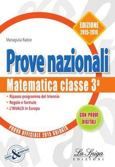 """Cover of """"INVALSI Matematica 2015 - 2016"""""""