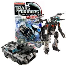 "Hasbro Transformers Dark of the Moon Series Deluxe Class 6"" Tall Figure - AUTOBOT ARMOR TOPSPIN with Blaster Claw (Vehicle Mode: #48 Race Track Car)"