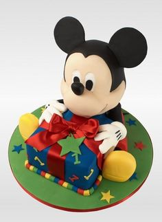 Mickey Mouse from Wilton bear cake pan