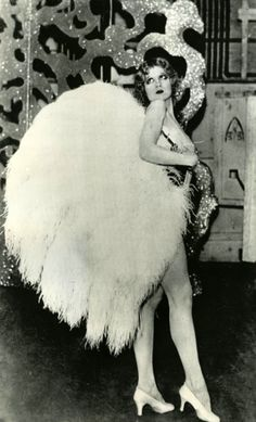 Faith Bacon (born July 19, 1910, Los Angeles, California – died September 26, 1956, Chicago, Illinois) was an American starlet turned burlesque dancer. Shortly after midnight on September 26, 1956, she was walking down the stairs of the hotel between the fourth and third floors and suddenly opened a window. As a friend grabbed at her skirt, she tore loose and jumped out the window. Her body landed on the roof of a one-story saloon next door. She was 46 years old.