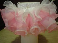 How to sew a pack of Skirt of tulle and satin ribbon Master Class Make yourself Heid Maid - YouTube