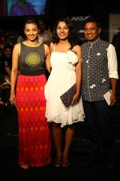 Radhika Apte and Onir at Lakme Fashion Week. The Jaipur Bride 2013.
