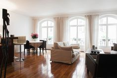 Apartment in Paris, France. One spacious room in a large modern apparment in the center of Paris, near Georges Pompidou Center. Very calm and luminous room located in one of the oldest streets in Paris. Plenty of closet space in room and private Italian walk in shower + sink...