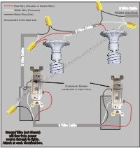 6b698b459638e921aceada8a7d256f13 no time electric 3 way switch diagram (power into light) for the home pinterest easy 3 way switch diagram at webbmarketing.co