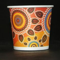 #paper #cup #brandname #advertising  #promote #promotion #disposable #party #Papercup #Branding #photos #tea #coffee #rangoli #diwali #patterns #culture