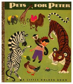 021-Pets for Peter – ilustrador Aurelius Battaglia - Copyright 1950- via goldengems.blogspot