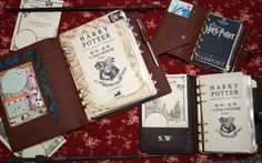 An awesome take on Harry Potter Planners by Princesstoity.wordpress.com