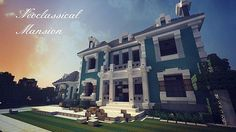 Neoclassical Mansion [WoK] [Download!] Minecraft Project