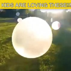 Let's unleash summer together with Amazing Bubble Ball! Amazing Bubble Ball is made with the super strong, tear-resistant material, Xpandium You can kick it, Best Kids Toys, Cool Inventions, Backyard Games, Do It Yourself Home, Summer Activities, Outdoor Fun, Projects For Kids, Kids And Parenting, Kids Playing