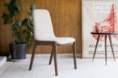 Una sedia scandinava solida e confortevole da posizionare attorno ad un tavolo design dallo stile nordico