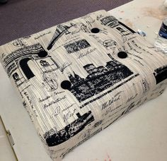 Hometalk :: Learning How to Make a Tufted Ottoman