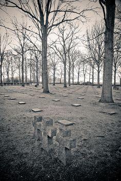 German Cemetery, Langemark, Belgium by Nige820, via Flickr