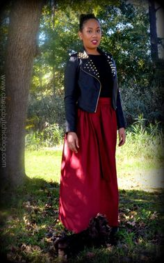Oxblood Maxi! Easy to make from Mimi G Style