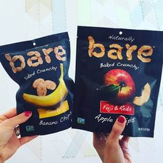 Bare Snacks makes crave-ably crunchy fruit chips that are baked never fried, gluten free, non GMO, with no preservatives or anythingartificial.