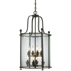 Z-Lite Wyndham Collection Bronze Finish Eight Light Pendant