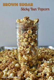Brown Sugar Sticky Bun Popcorn